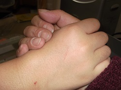 ブログ記事画像_親子の握手