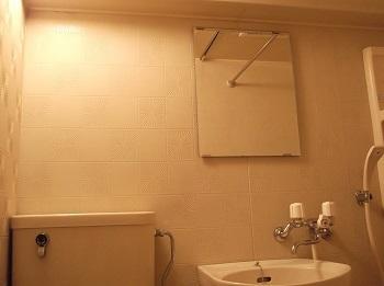 バスルームミラービフォー