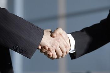 ビジネスマン‗握手