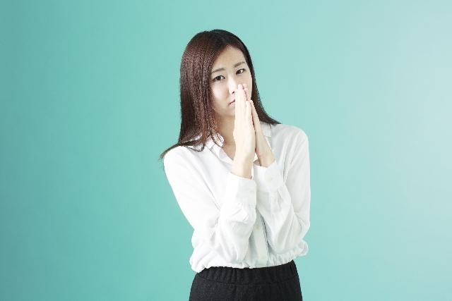 ブログ記事画像_美人の悲しげなお願い