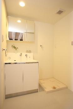 ワンルームマンション洗面所