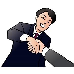 ブログ記事画像_男性と握手する手