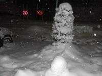 雪のツリー