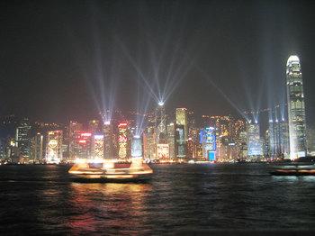 ブログ記事トップ画像_香港の夜景